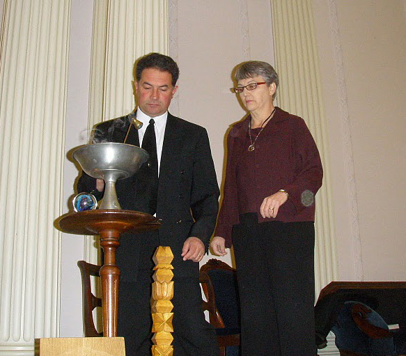 Both ministers in USNF church